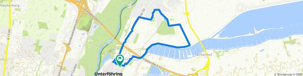 Gemütliche Route in Unterföhring