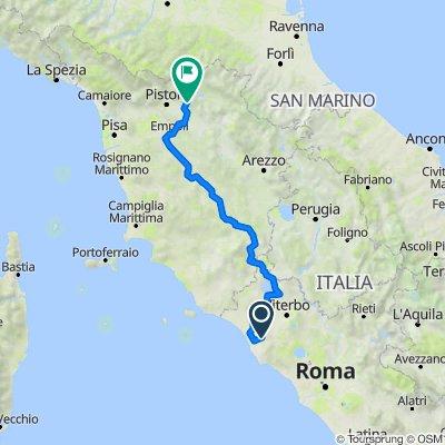 Tarquinia - Prato, Ritorno