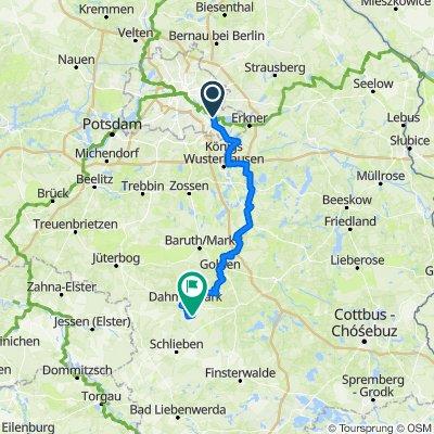 Route: DahmeRadweg