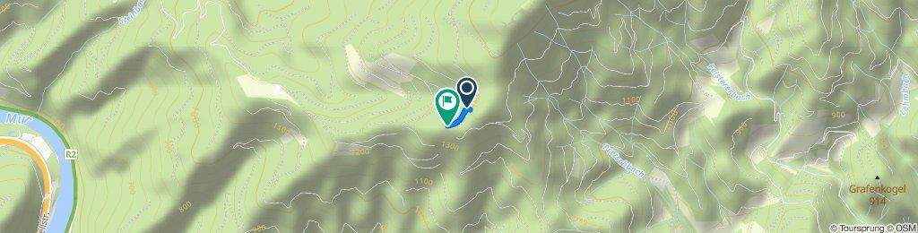 Gemütliche Route in Pernegg an der Mur