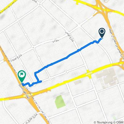 ATIS Stop 0020 Hawally Block 6 to Al Maghreb Road, Hawally