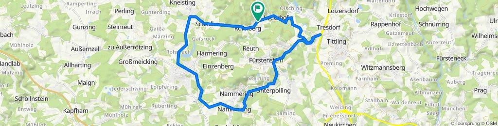 Thurmannsdorf 4, Fürstenstein nach Thurmannsdorf 4, Fürstenstein