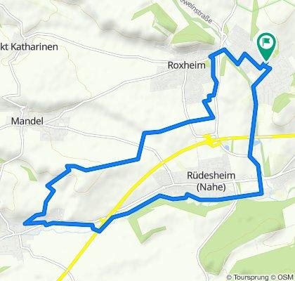 Gemütliche Route in Hargesheim