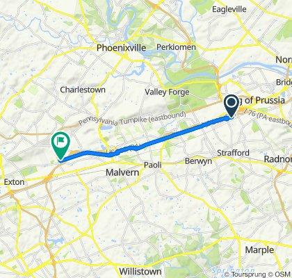 575–595 Devon Park Dr, Wayne to 125 Phoenixville Pike, Malvern
