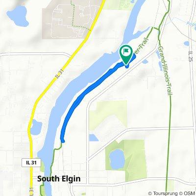 1509 Riverview Dr, South Elgin to 1509 Riverview Dr, South Elgin
