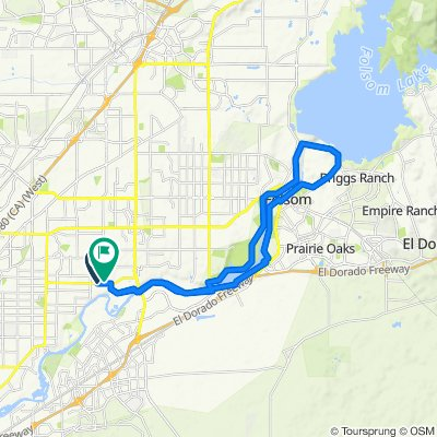 8893 Fair Oaks Blvd, Carmichael to 4000 San Juan Ave, Fair Oaks