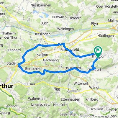 Frfeld-Ellikon-Rickenbach-Wiesendangen-Häuslenen-Matzingen-Td