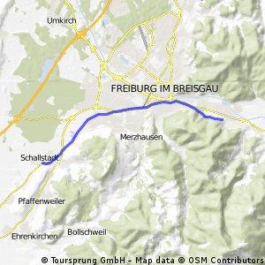 Von Littenweiler nach Schallstadt (Longboard geeignet)