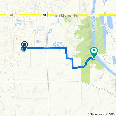 5386 Pierce St, Allendale to 9920 42nd Ave, Jenison