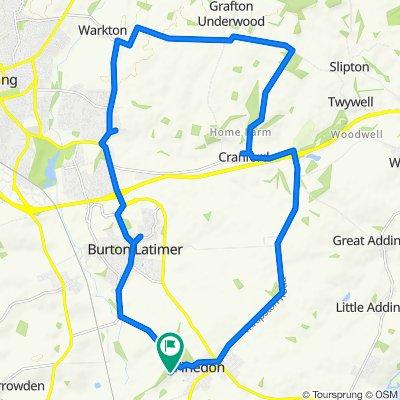 1–11 Holly Walk, Wellingborough to 28 Mackworth Drive, Wellingborough