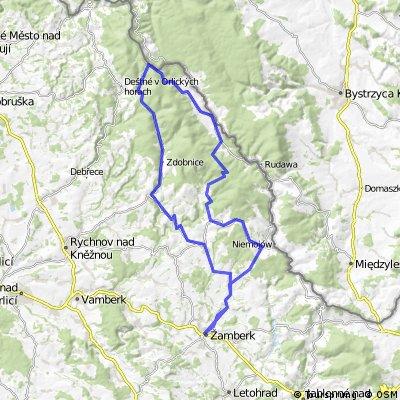 3. etapa -horská VC Žamberka
