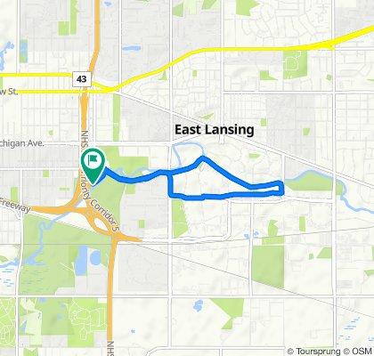 497–499 S Clippert St, Lansing to 497–499 S Clippert St, Lansing