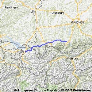 Dornbirn - Murnau am Staffelsee