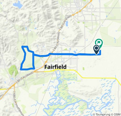 Supersonic route in Fairfield