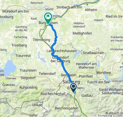 RIF Burghausen über Holzöster