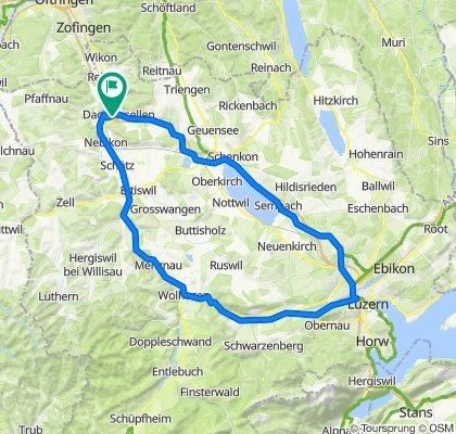 Dagmersellen - Sempachersee - Luzern