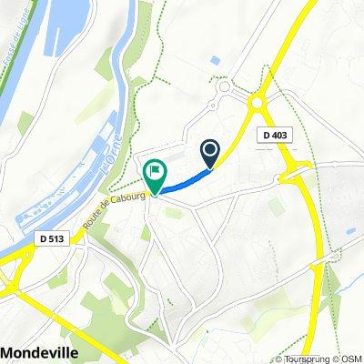 Itinéraire sportif en Colombelles