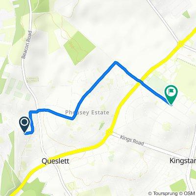 Moderate route in Birmingham