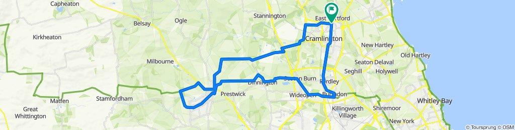 7 Kelsey Way, Cramlington to 41 Horton Drive, Cramlington