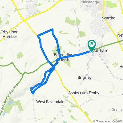 13 Laburnum Ave, Grimsby to 13 Laburnum Ave, Grimsby