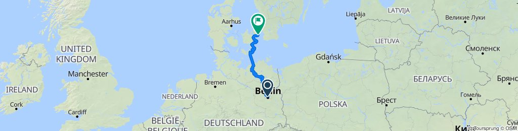 Berlin - Ostsee - Kopenhagen