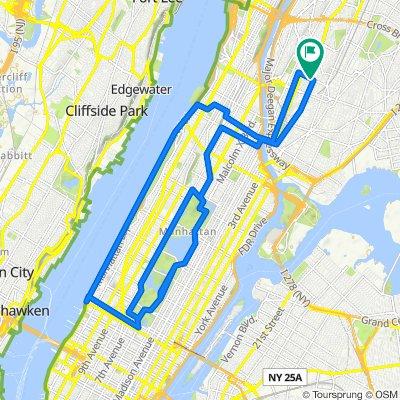 West side & Central Park loop
