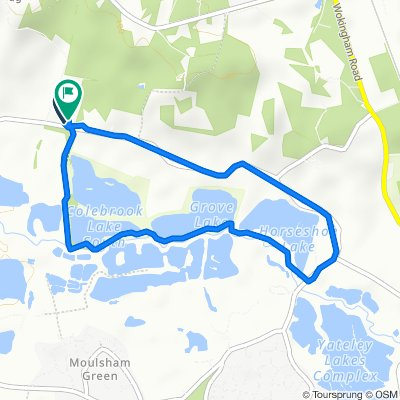 Restful route in Wokingham