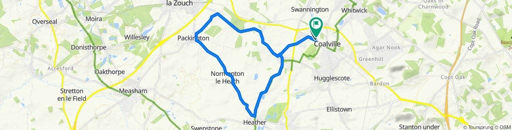 Coalvile - Packington - Normanton le Heath Loop