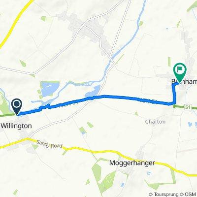 Slow ride in Bedford