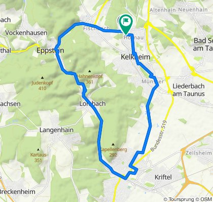RR Sprint 23km Lorsbachtal