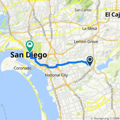 500–598 Granite View Ln, Spring Valley to 1518 Sixth Ave, San Diego