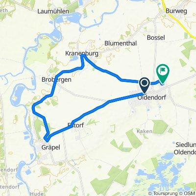 Gemütliche Route in Oldendorf