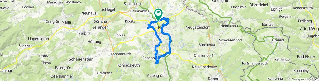 Moderate Route in Hof