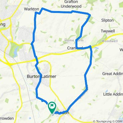 Cracking ride in Wellingborough