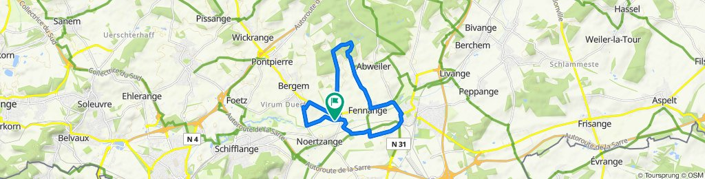 Steady ride in Bettembourg