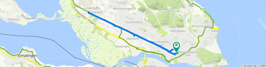 Zähringerplatz 10, Konstanz nach Zähringerplatz 6-8, Konstanz