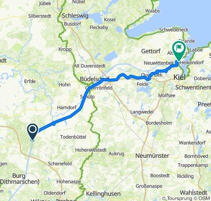 3. Etappe Kiel-Tour