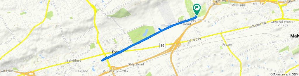 125 Phoenixville Pike, Malvern to 125 Phoenixville Pike, Malvern