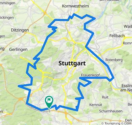 Radelthon rund um Stuttgart