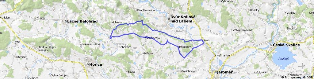 PŘ 4 - Doubravice - Kuks - Dehtov