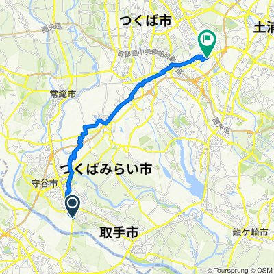 1102-2, Toride to 2-chōme 26, Tsukuba