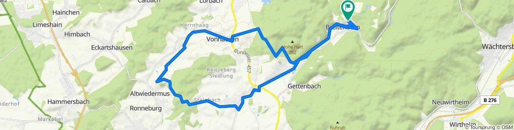 Gemütliche Route in Gründau