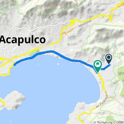 Paseo rápido en Acapulco