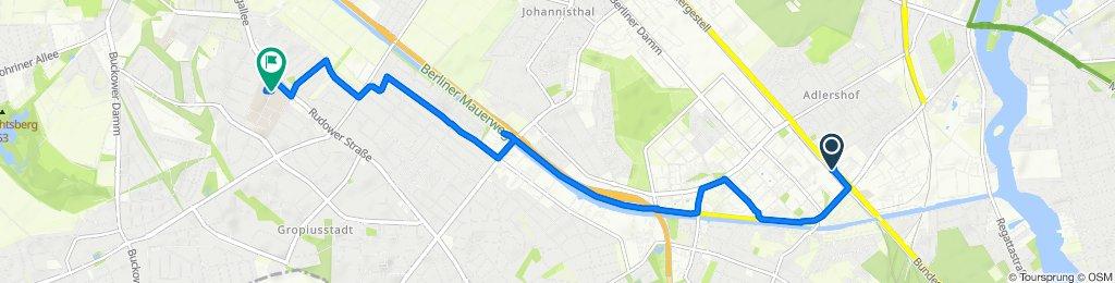 Moderate Route in Berlin