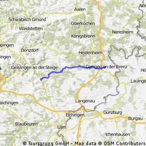 BW-02 Etappe 2 - Giengen (Brenz) – Amstetten