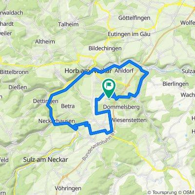 Knackige Fahrt in Horb am Neckar