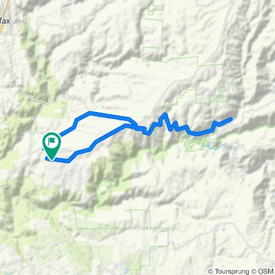 Todd Valley to Circle Bridge and Back
