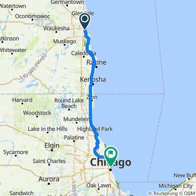 Milwaukee to Chicago