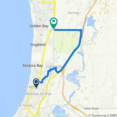 27 Suncrest Meander, Mandurah to Paganoni Rd, Karnup