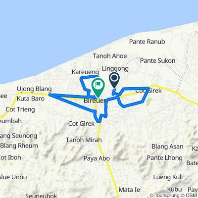 Geulanggang Kulam, Kota Juang to Jalan Andalas 39, Kota Juang